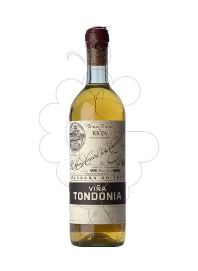 Photo White Viña Tondonia Gran Reserva white wine