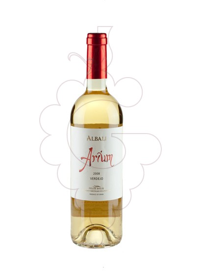 Photo Viña Albali Aurium Blanc white wine