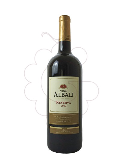 Photo Viña Albali Reserva Magnum red wine