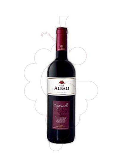 Photo Viña Albali Tempranillo red wine