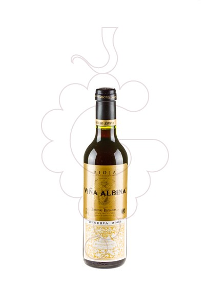 Photo Viña Albina Reserva (mini) red wine