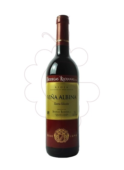 Photo Viña Albina Reserva Selección red wine
