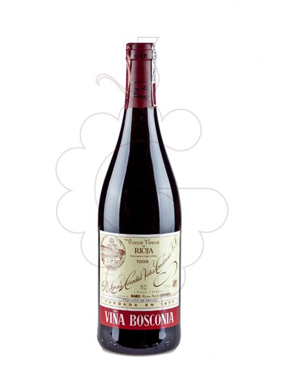Photo Viña Bosconia Reserva red wine