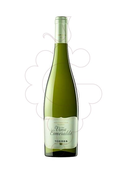 Photo Viña Esmeralda Blanc white wine