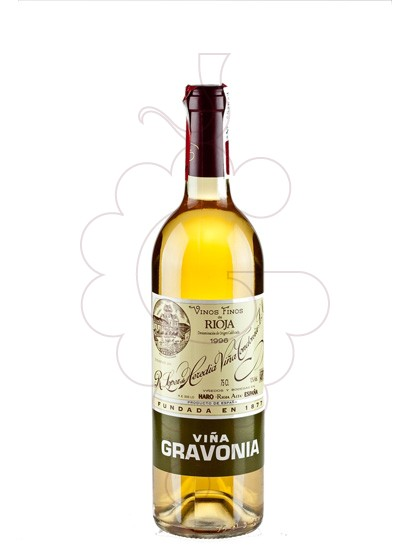 Photo Viña Gravonia white wine