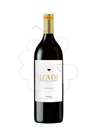 Photo Izadi Crianza Magnum red wine