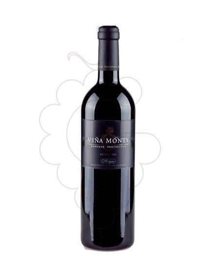 Photo Viña Monty Reserva red wine