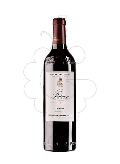 Photo Viña Pedrosa Crianza red wine