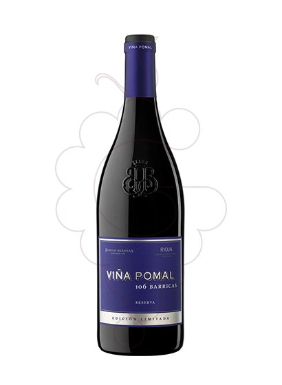 Photo Viña Pomal 106 Barricas Reserva red wine