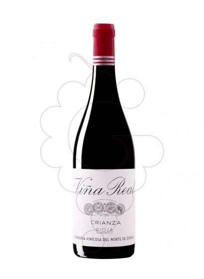 Photo Viña Real Crianza red wine