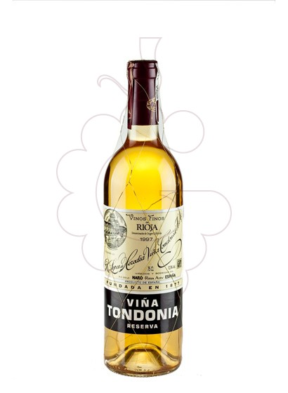 Photo White Viña Tondonia Reserva white wine