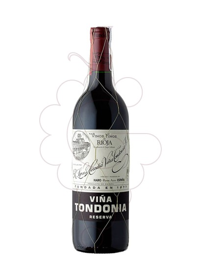 Photo Viña Tondonia Reserva red wine