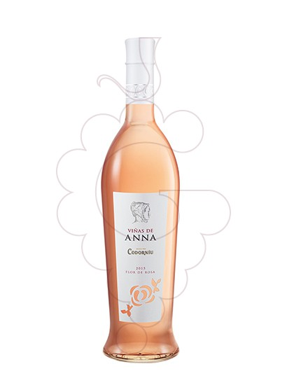 Photo Viñas de Anna Flor de Rosa rosé wine