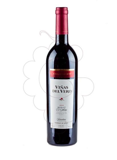 Photo Viñas del Vero Merlot Colección red wine