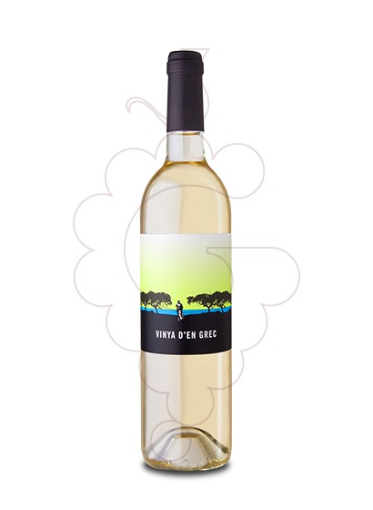 Photo Vinya d'en Grec Blanc white wine