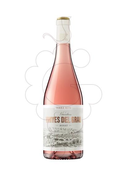 Photo Rosé Vinyes del Grau rosé wine
