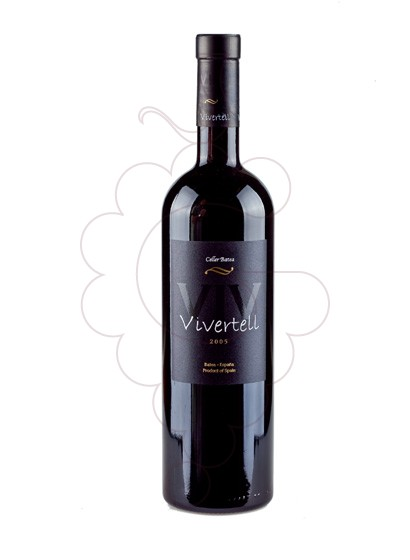 Photo Vivertell Negre red wine
