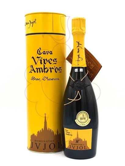 Photo Vives Ambròs Homenatge JVJOL sparkling wine