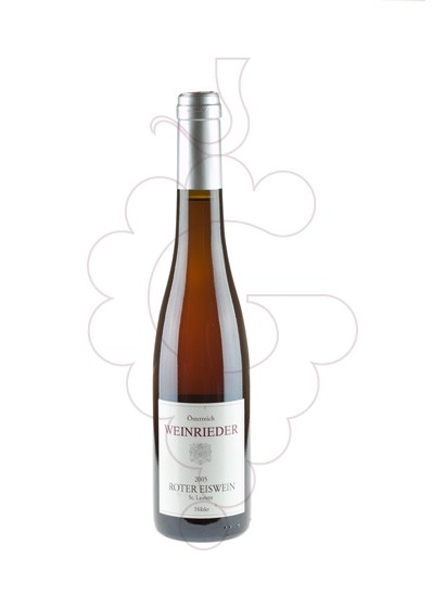 Photo Weinrieder Roter Eiswein fortified wine