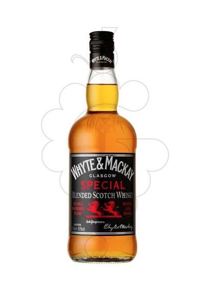 Photo Whisky Whyte & Mackay Special