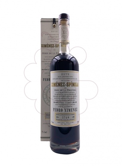 Photo Ximénez-Spínola (Pedro Ximénez) fortified wine