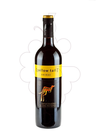 Photo Yellow Tail Shiraz red wine