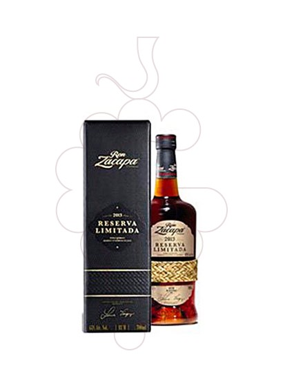 Photo Rum Zacapa Centenario Reserva Limited Ed 2013